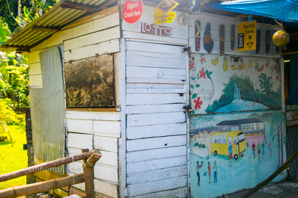 A store in _____ Jamaica