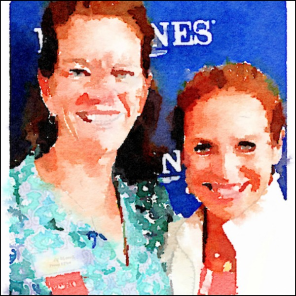 And me with one of my all time favorites, Katie Couric, supporting the ASPCA at the Hampton Classic Horse Show.