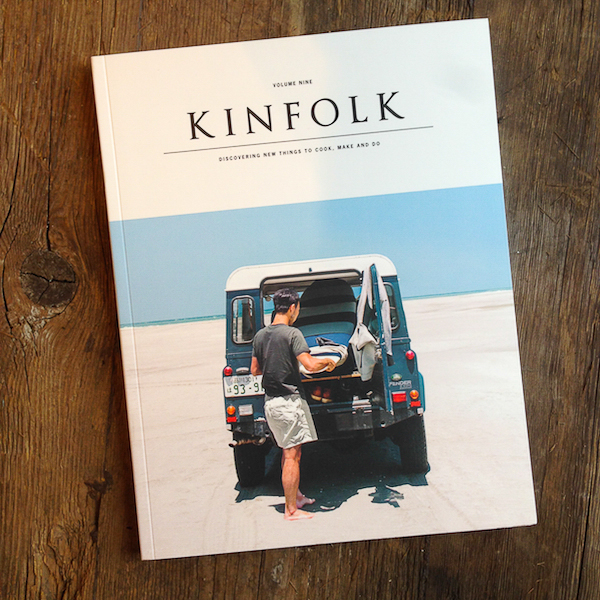 One of my favorite issues of Kinfolk Magazine.