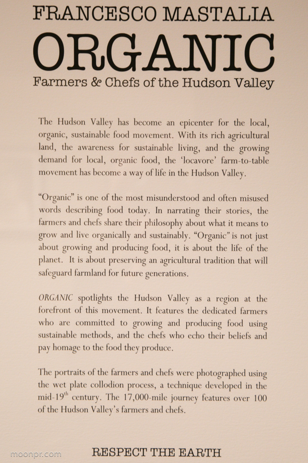 Organic spotlights the Hudson Valley and numerous farmers.