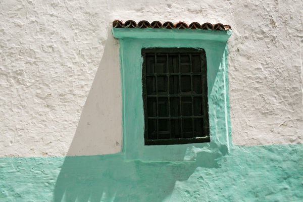 Tangiers in green and white by ©Nancy Moon