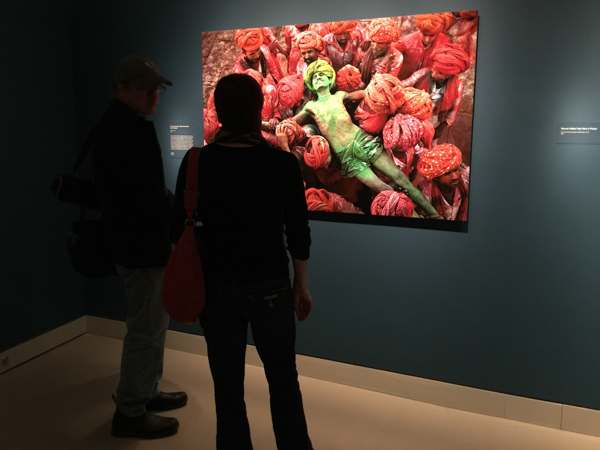 Steve McCurry at the The Rubin Museum