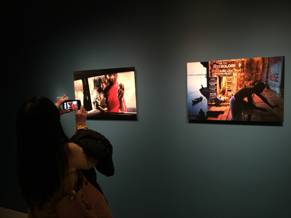 Steve McCurry at the Rubin Museum in NYC