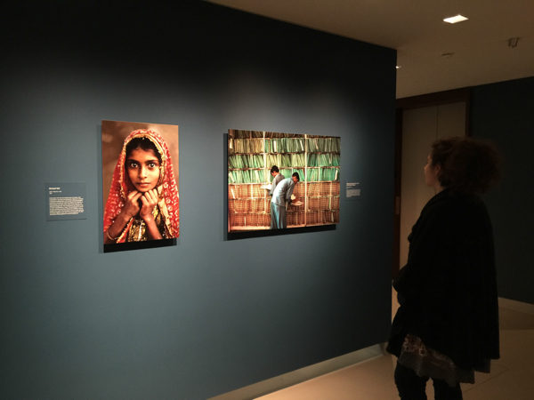 Nomad girl ~ Steve McCurry at the Rubin Museum in NYC