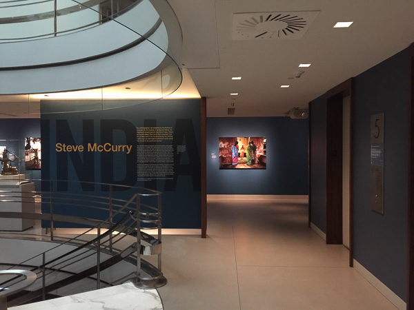 Steve McCurry at Rubin Museum in NYC