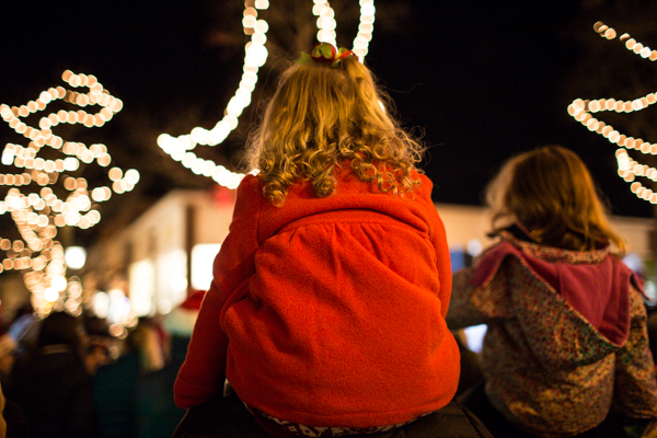 Holiday Stroll in CT by ©Nancy Moon