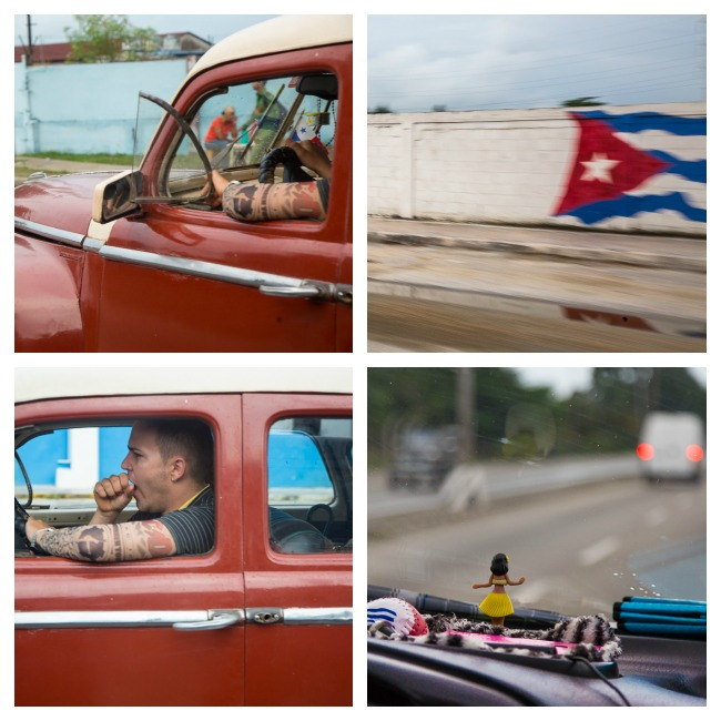 Havana from my car window © Nancy Moon