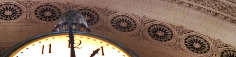 The Clock at Grand Central Terminal
