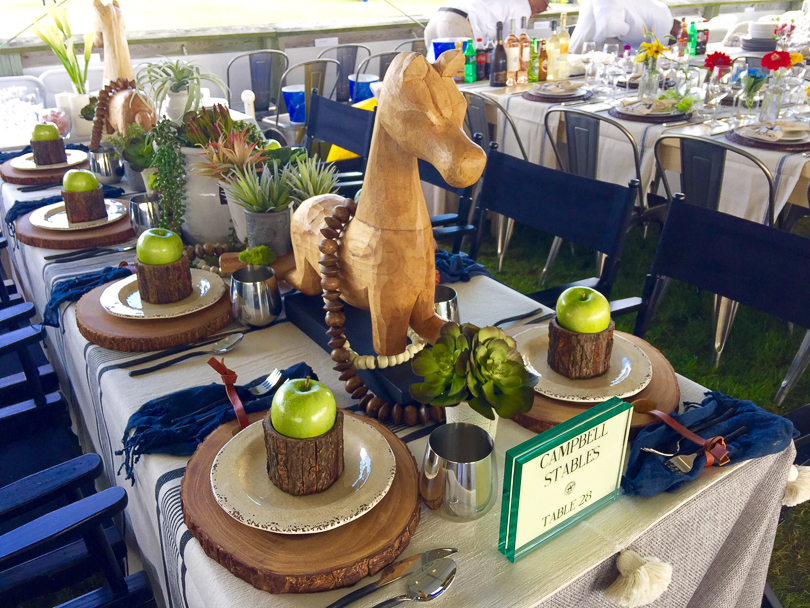 Winning table decor