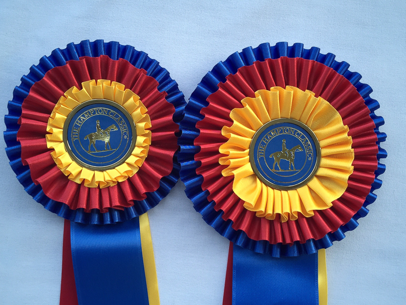 Ribbons at the Hampton Classic Horse Show