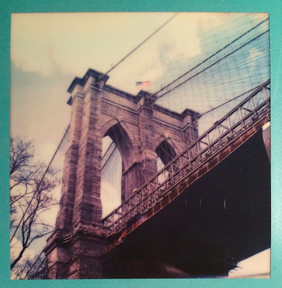 Polaroid Brooklyn Bridge