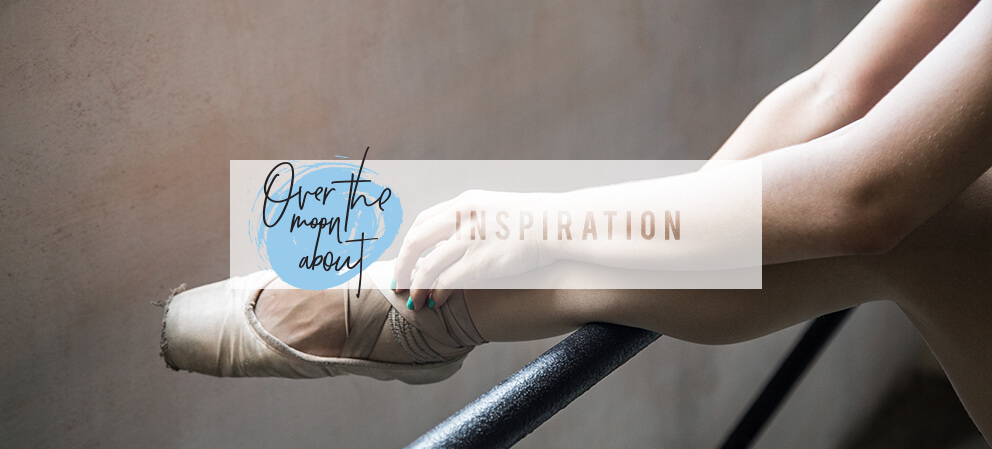 over the moon about inspiration