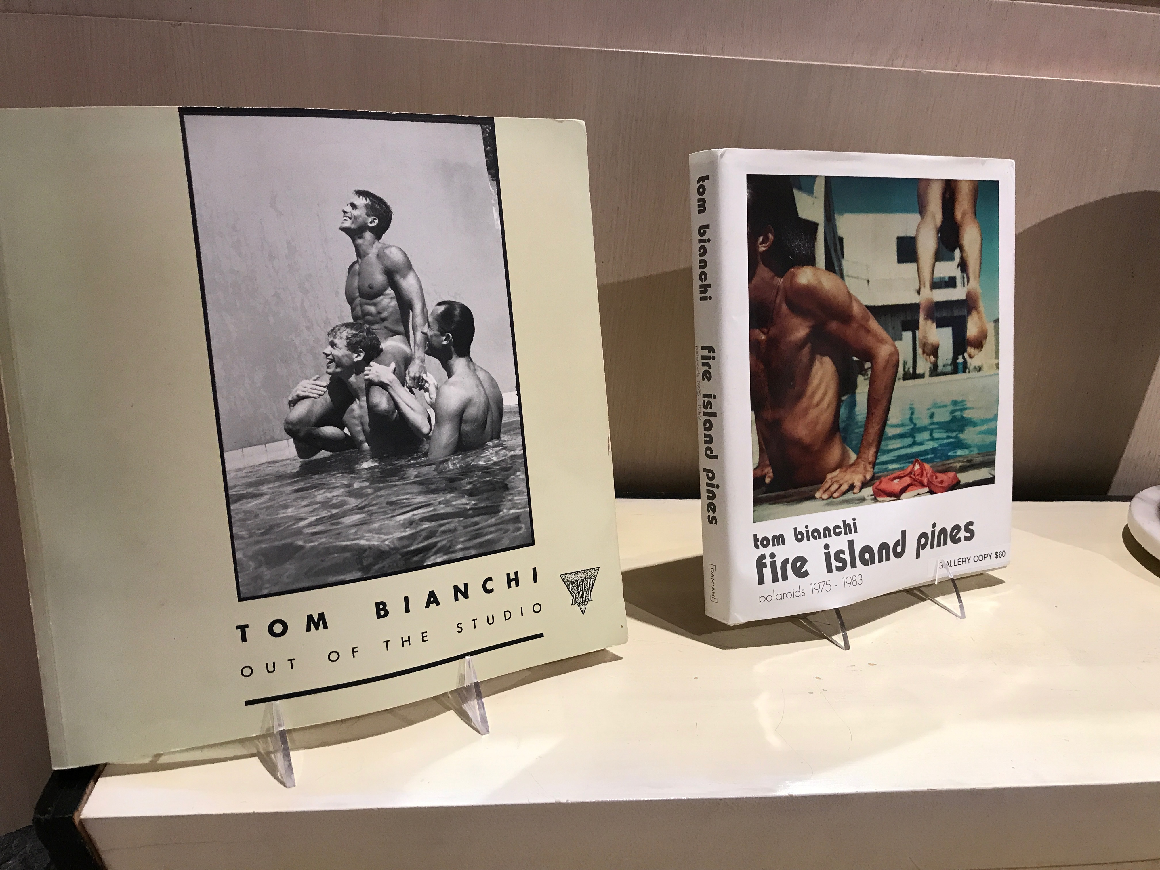 Out of the Studio and Fire Island Pines by Tom Bianchi